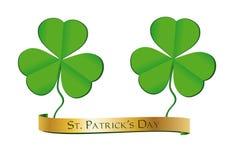 Cinta del día del St. Patrick Imagenes de archivo