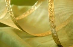 Cinta del oro Fotografía de archivo libre de regalías