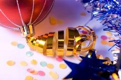 Cinta del oro Foto de archivo libre de regalías