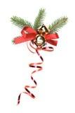 Cinta del regalo de la Navidad Imagen de archivo