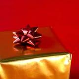 Cinta del regalo de Navidad imagen de archivo libre de regalías