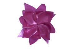 Cinta del rosa de la forma de la flor Imagen de archivo libre de regalías