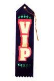 Cinta del VIP Fotografía de archivo