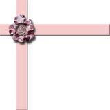 Cinta en colores pastel rosada Stock de ilustración