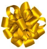 Cinta envuelta oro Fotografía de archivo