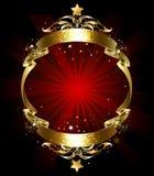 Cinta eterna del oro Imagenes de archivo