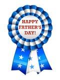 Cinta feliz del día de padre Fotografía de archivo