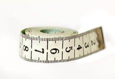 Cinta métrica Fotografía de archivo libre de regalías