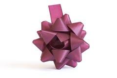 Cinta púrpura Imagen de archivo libre de regalías