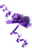Cinta púrpura Fotografía de archivo