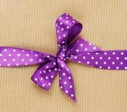 Cinta púrpura Fotografía de archivo libre de regalías