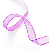 Cinta púrpura Imagen de archivo