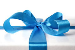 Cinta para el rectángulo de regalo Fotos de archivo libres de regalías