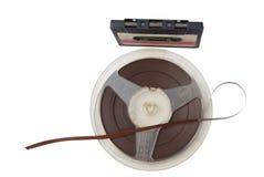 Cinta para el sujetar con cinta adhesiva-registrador Fotos de archivo libres de regalías