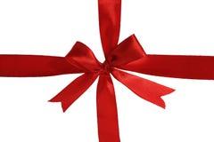 Cinta roja Imágenes de archivo libres de regalías