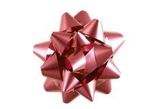 Cinta roja de la Navidad Imagen de archivo libre de regalías