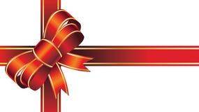 Cinta roja gigante del arco de la Feliz Navidad libre illustration