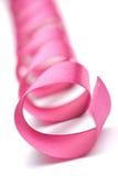 Cinta rosada del día de fiesta aislada Imagen de archivo libre de regalías