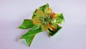 Cinta verde hermosa Imagen de archivo libre de regalías