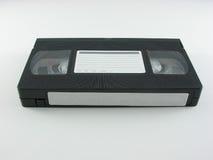 Cinta video con las escrituras de la etiqueta Imagen de archivo