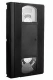 Cinta video vieja sin escritura de la etiqueta Fotos de archivo libres de regalías