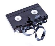 Cinta vieja del VHS Foto de archivo libre de regalías