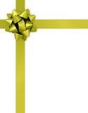 Cinta y arqueamiento del regalo en un fondo blanco ilustración del vector
