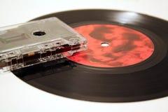 Cinta y vinilo Imagen de archivo libre de regalías