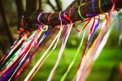 Cintas coloreadas Imagen de archivo