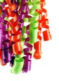 Cintas coloridas Foto de archivo libre de regalías