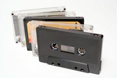 Cintas de audio Fotografía de archivo libre de regalías