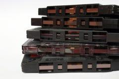 Cintas de casete Fotos de archivo libres de regalías