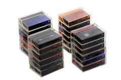 Cintas de cinta de video Imágenes de archivo libres de regalías