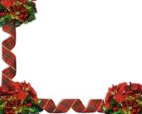 Cintas de la frontera de la Navidad Imagenes de archivo