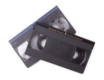 Cintas de VHS Foto de archivo