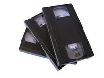 Cintas del VHS Foto de archivo libre de regalías
