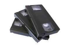 Cintas del VHS fotos de archivo
