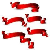 Cintas rojas Foto de archivo