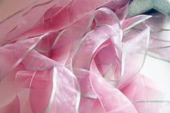Cintas rosadas Imágenes de archivo libres de regalías