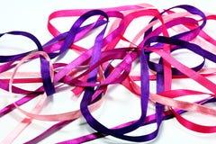 Cintas rosadas del caos Imagen de archivo