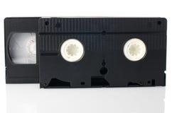 Cintas video viejas de VHS Imagen de archivo