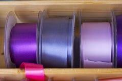 Cintas y cinta coloridas Imagen de archivo libre de regalías