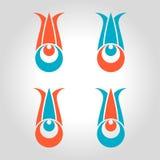 Cintemani tulip logo Stock Images