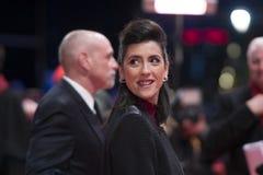 Cintia Gil tijdens 68ste Berlinale 2018 stock afbeelding