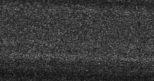 Cintilação realística do fundo cinzento, preto e branco do ruído do pulso aleatório do VHS, sinal análogo da tevê do vintage com  filme