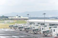 Cintre d'aéroport Image libre de droits