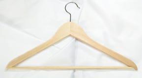 Cintre de manteau d'isolement Photo stock
