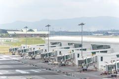 Cintre terminal Photos libres de droits