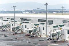 Cintre terminal Images stock