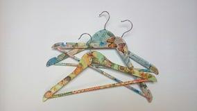 Cintres décorés Photo stock